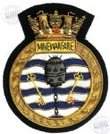 Minewarfare - Blazer Badge~OFFICIALLY LICENCED PRODUCT